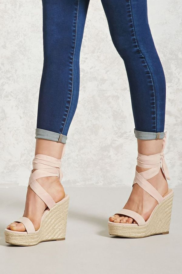 Best 25 Wedge sandals ideas on Pinterest Cute flats