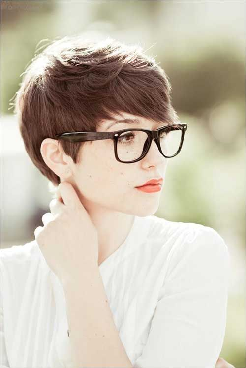191 Best Images About Short Hair & Glasses On Pinterest