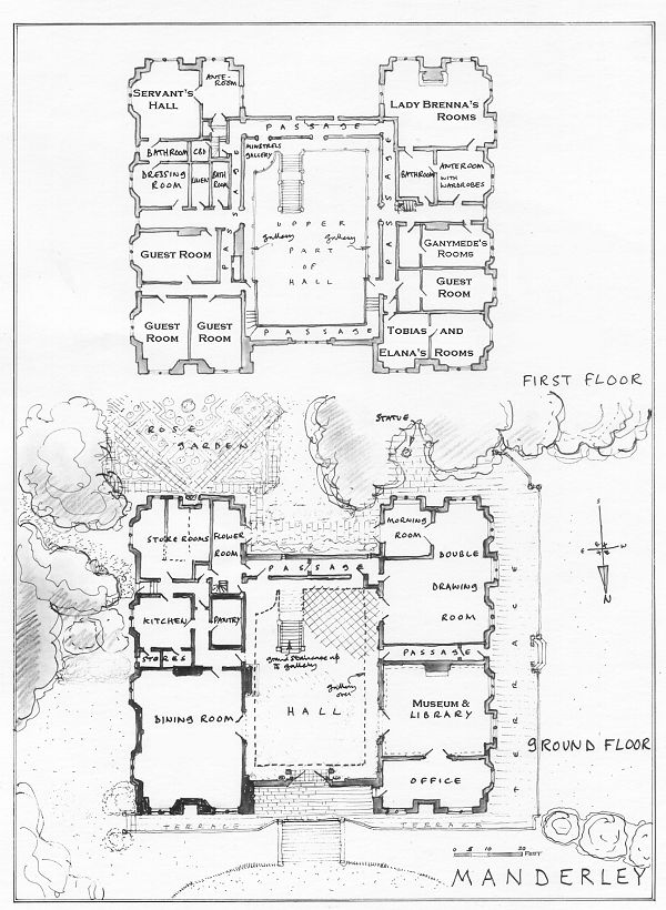 manderley.gif (600×820) floor plan of the house featured