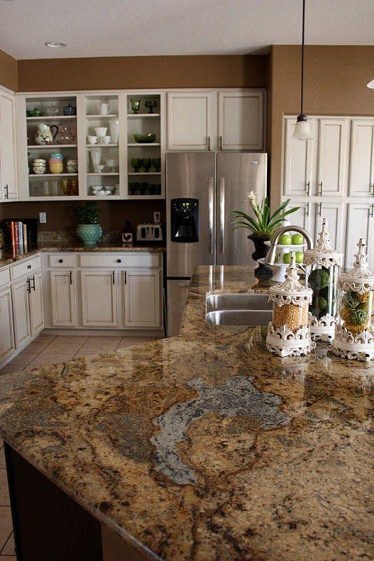Choosing Granite Countertop Colors For Cherry Wood