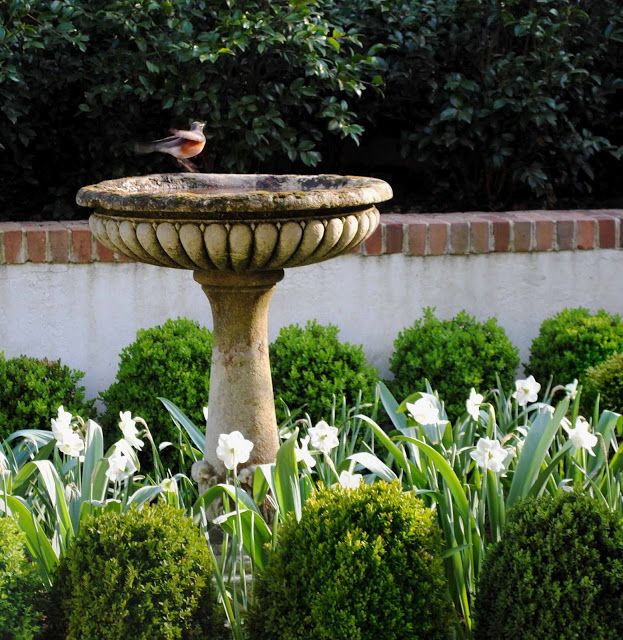 107 Best Images About Gardens With Bird Baths On Pinterest Bird