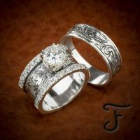 1000+ ideas about Western Wedding Rings on Pinterest ...