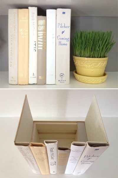 Hide your router.   41 Creative DIY Hacks To Improve Your Home