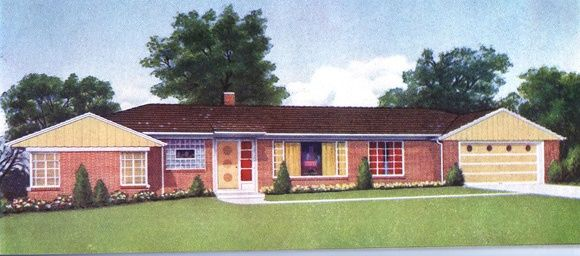 1960s House Styles 1960s Ranch Style For The Home