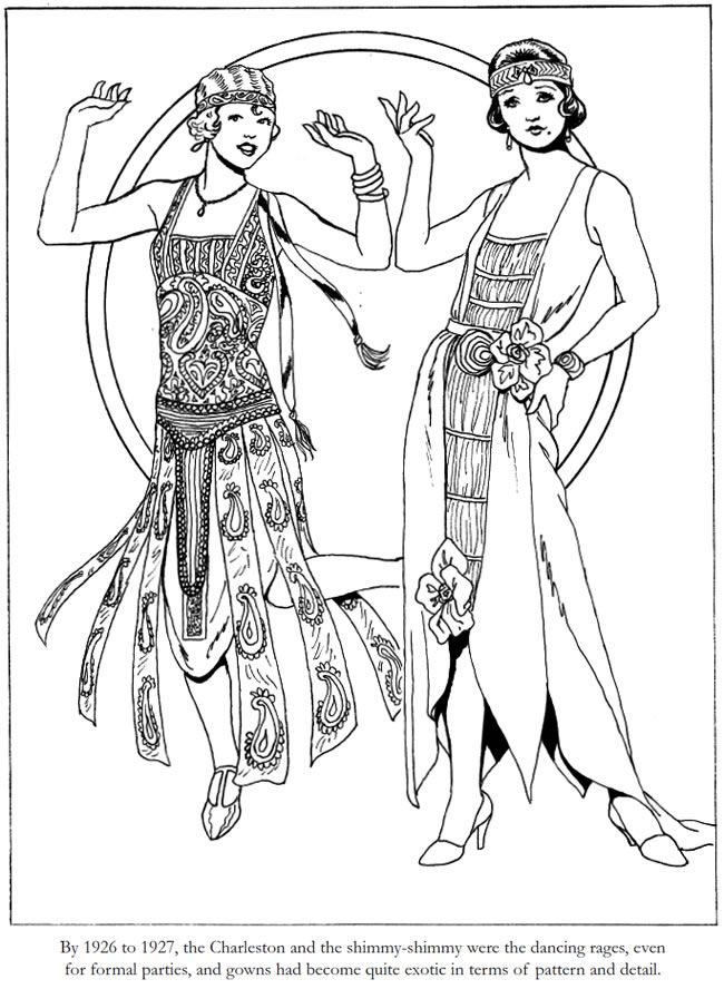 Dover Publications Fashions of the Roaring Twenties