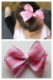 ideas big hair bows