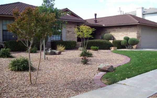 front yard xeriscape ideas residential
