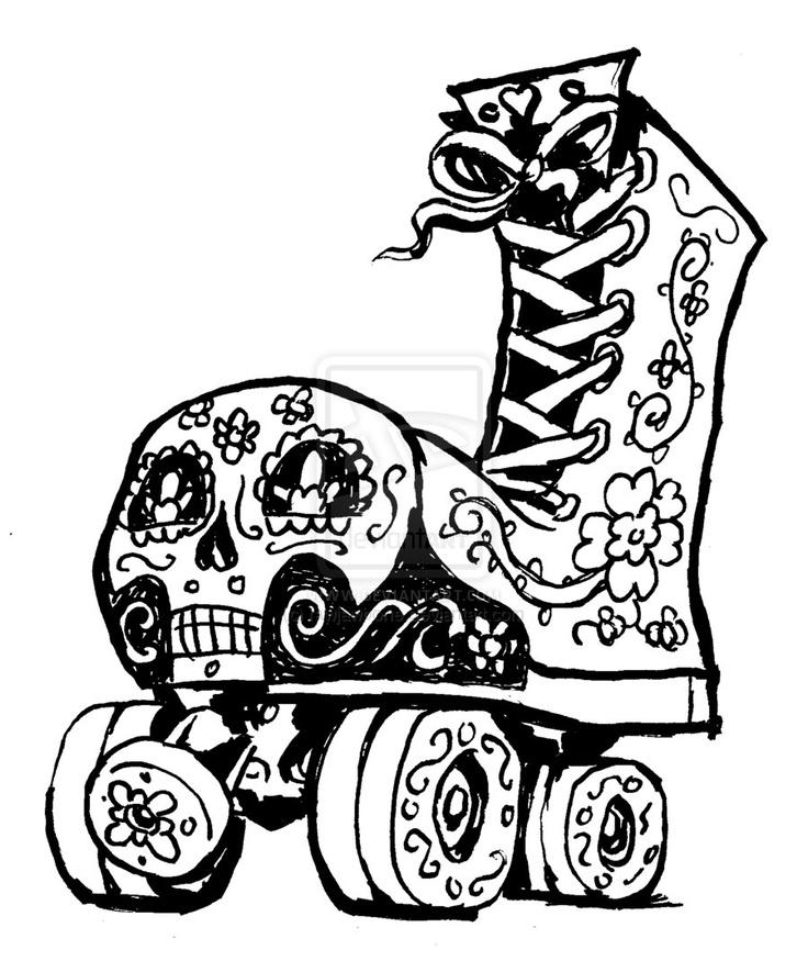 Roller Skate Drawings