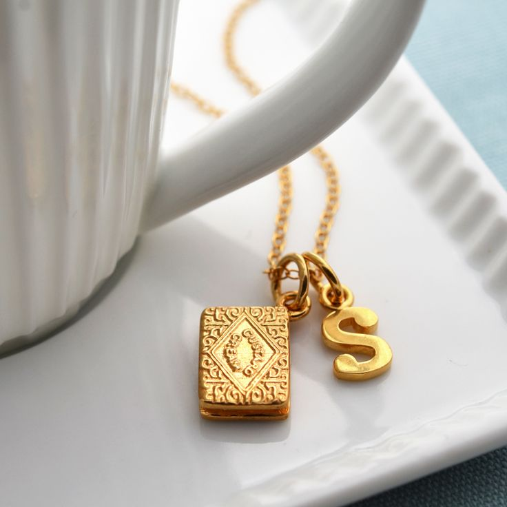 Sweet Couples Cute Love Wallpapers Gold Custard Cream Necklace By Lily Charmed Alphabet For