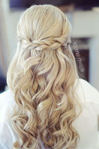 17 Best ideas about Half Up Wedding Hair on Pinterest