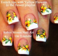 25+ best ideas about Tropical Flower Nails on Pinterest ...