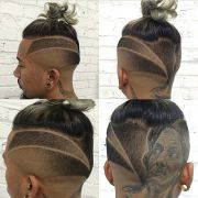 haircut tribal