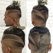 haircut tribal