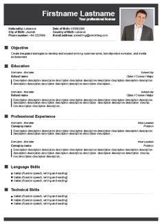 Free Resume Builder Resume Templates And Resume Builder