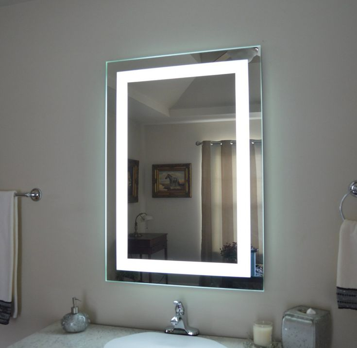 Lighted medicine cabinet Bathroom mirror cabinet and