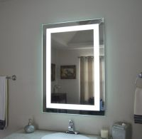Lighted medicine cabinet, Bathroom mirror cabinet and ...