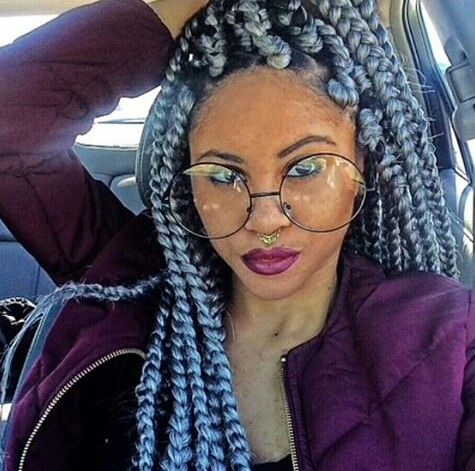 grey poetic justice box braids sew in hairstyles pinterest grey poetic justice and boxes