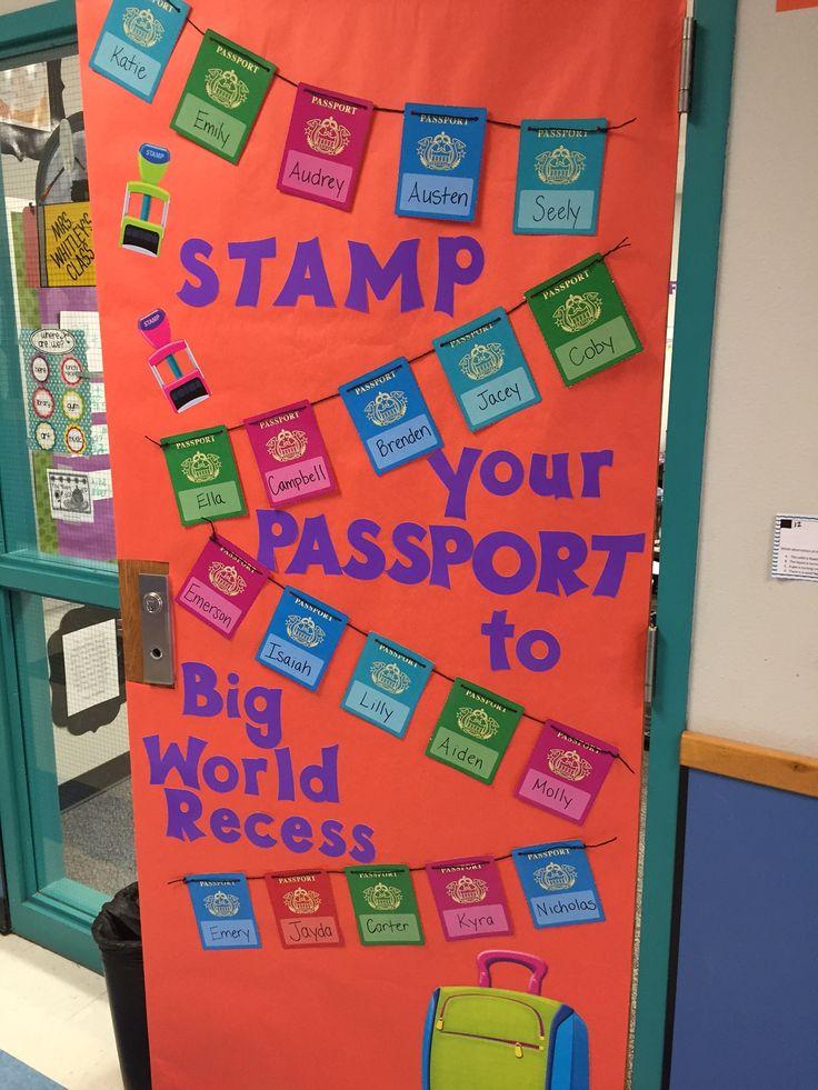 25+ best ideas about Spanish classroom door on Pinterest