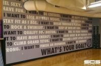 school cafeteria wall graphics | School Murals, Signs ...