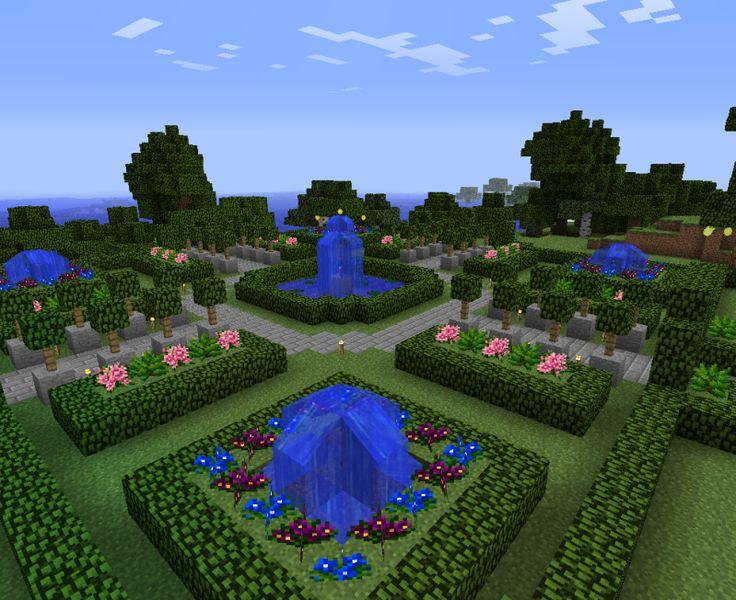 Minecraft Gardens Google Search Minecraft Pinterest
