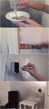Best 25+ Glitter wall art ideas on Pinterest