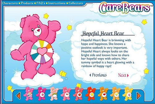 34 Best Images About Care Bear Hopeful Heart Bear On