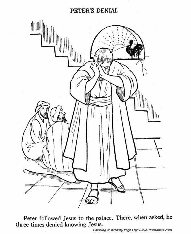 17 Best ideas about Peter Denies Jesus on Pinterest