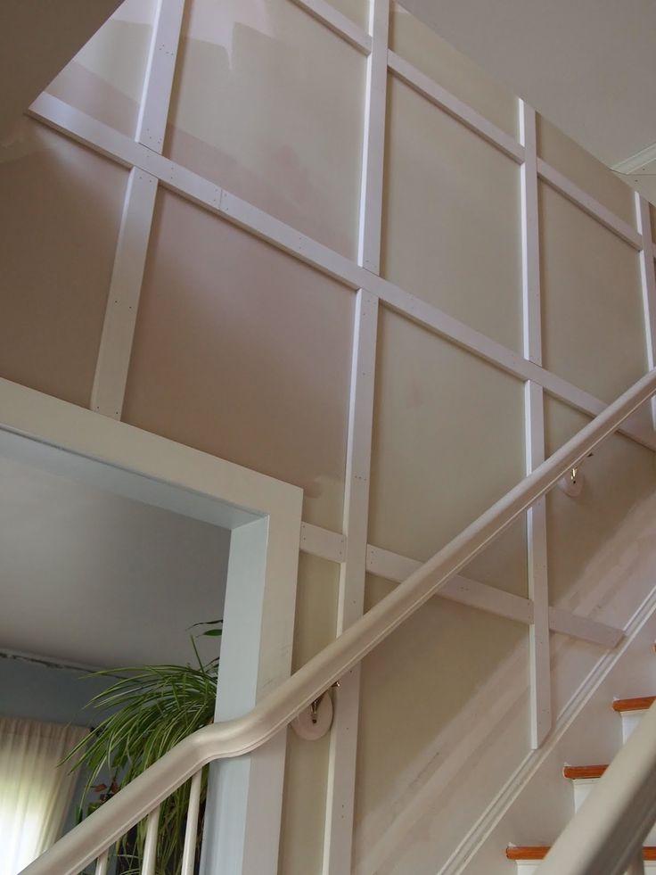 Hallway Molding Ideas  Stair Molding Ideas httpwwwthequaintcottagenet201107updateon