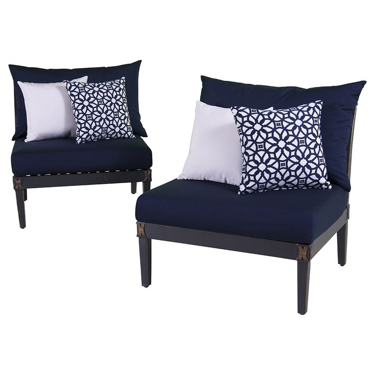 outdoor chair cushions canada dining booster seats for toddlers create the patio of your dreams starting with astoria armless chairs $1,699.99   ...