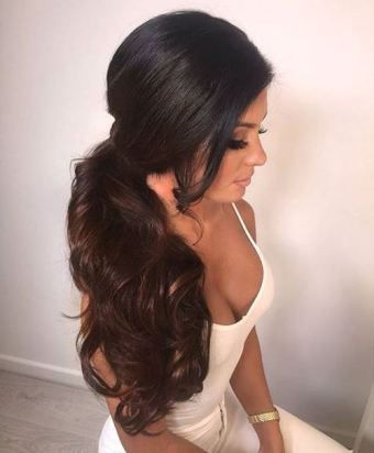 best 25 side ponytail hairstyles ideas on pinterest