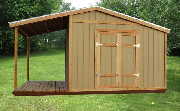 Rustic Sheds With Porch Storage Shed Plans With Porch – Build A