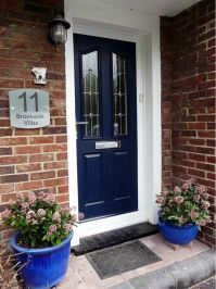 25+ best ideas about Navy front doors on Pinterest | Front ...