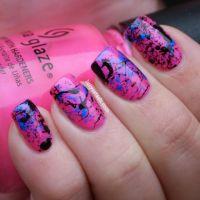 1000+ ideas about Splatter Nails on Pinterest | Nails ...