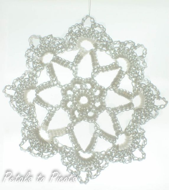 1000+ images about crochet holiday: snowflakes
