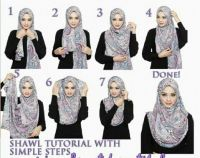 Shawl tutorial with simple steps | Hijab tutorial and tips ...