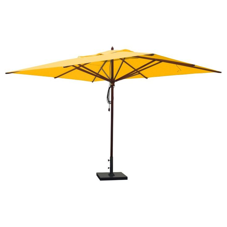 25+ best ideas about Rectangular patio umbrella on