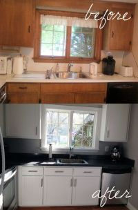 Kitchen Cabinet Refacing - The Process | Bead board ...