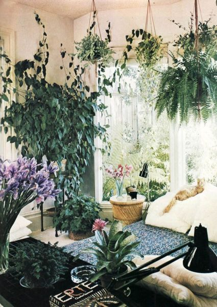vintage bedroom ideas with plants 36 Stunning Bohemian Homes You'd Love To Chill Out In | Gardens, The plant and Boho