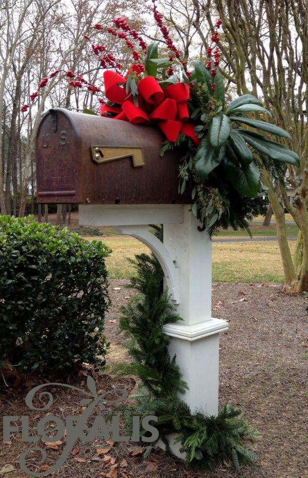 holiday decor floralis - mailbox
