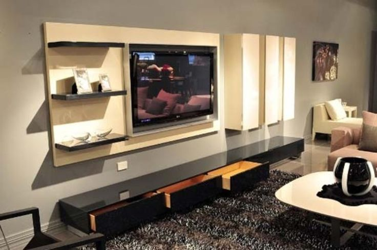 tv cabinets for flat screens on wall  Tv Cabinet Designs By choosing a wall TV Cabinets for
