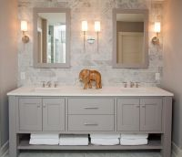 17 Best ideas about Gray Bathroom Vanities on Pinterest