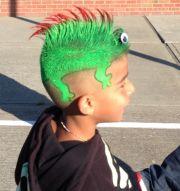 lizard crazy hair day jeni