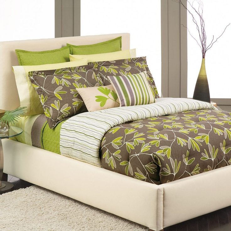 37 best images about redecorating my bedroom on Pinterest  Contemporary bedding King comforter
