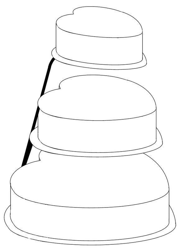 13 best images about cake templates on Pinterest