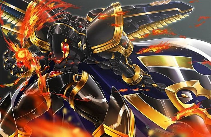 """#Alphamon#Ouryuken #アルファモン:王竜剣 X-antibody BY ハヱキング"