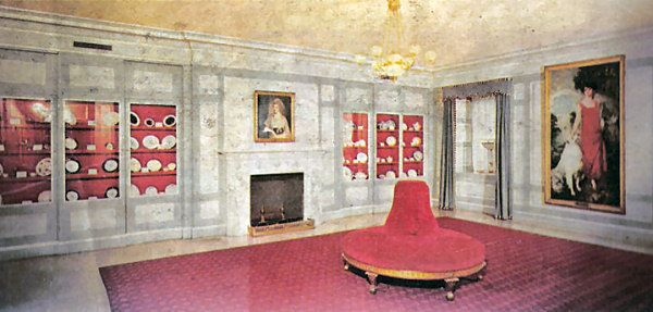 China Room  Jackie Kennedys White House  Pinterest  The ojays The white and White houses