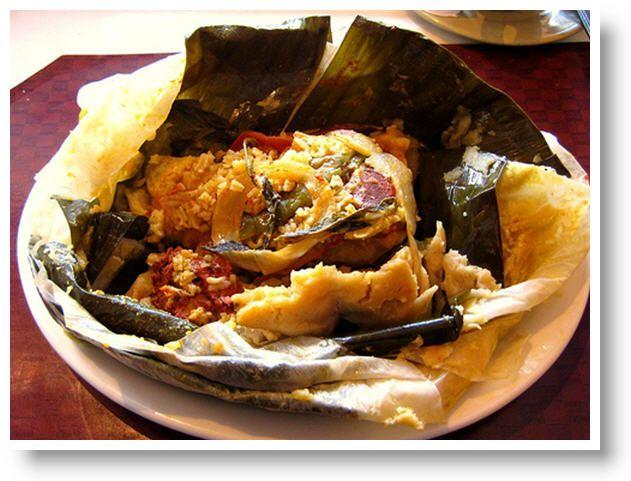 Carne en Baho  Nicaraguan cuisine  marinated meat yucca