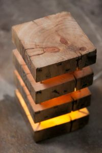 Perfect - Mood lamp, made from old timber. | Wooden lamps ...