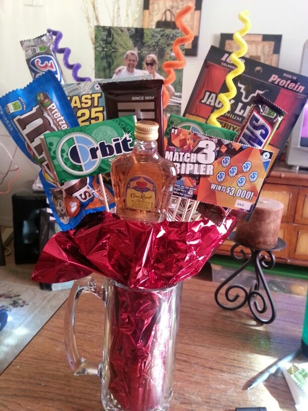 Father's Day Man Bouquet! DIY Pinterest Pictures Of