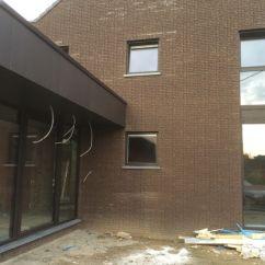 Open Plan Kitchen Living Room Flooring Ideas Setup De Doncker D Bvba Www.dirkdedoncker.be Profel Alu Ral 8019 ...